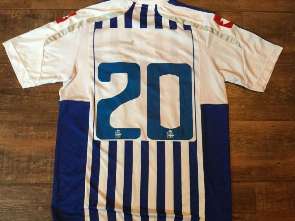 2010 2011 Deportivo La Coruna Match Worn Player Football Shirt Spain Camiseta